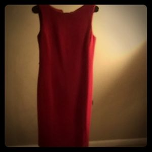 Talbots Red Dress
